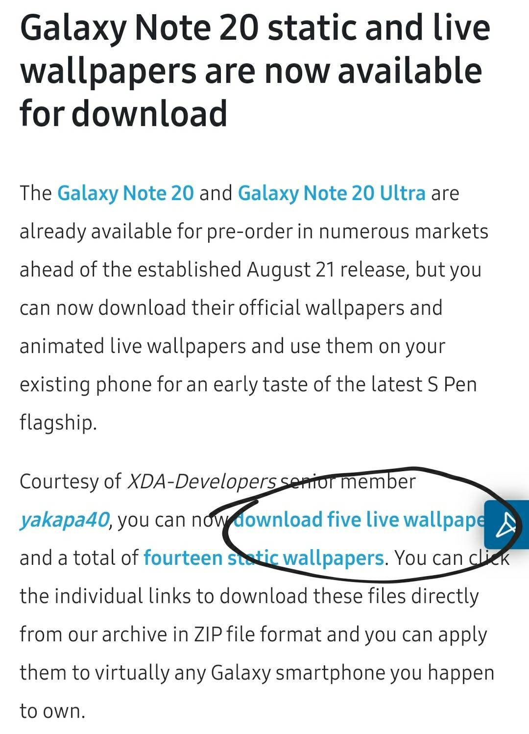 Note 20 Live Wallpaper Now Available Samsung Members