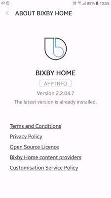 BIXBY HOME IN A9 PRO - Samsung Global EU