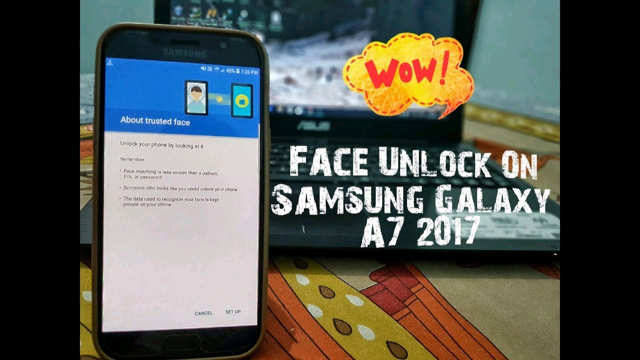 Face unlock in any samsung device - Samsung Global EU