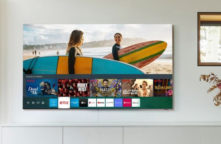Netflix on Samsung TV.JPG