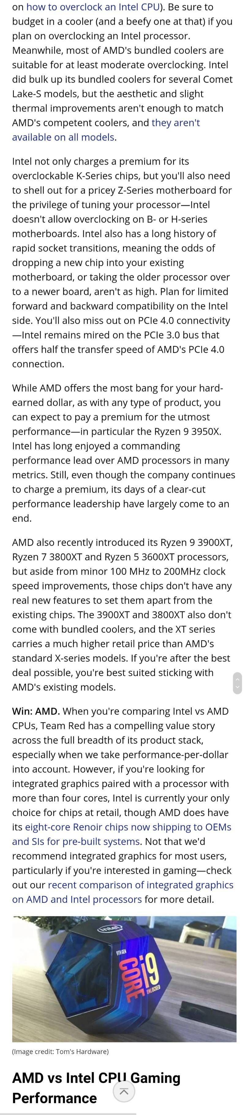 Amd Vs Intel Don T Make A Mistake Samsung Members