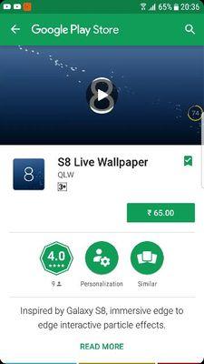s8 infinity live wallpaper for s7 edge