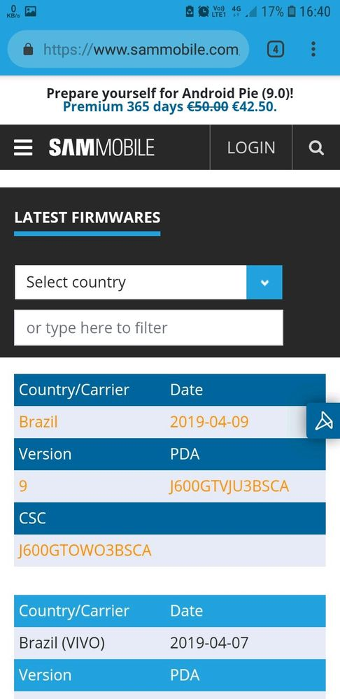 j6 pie update released    its time - Samsung Global EU