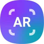① Download AR Canvas from Galaxy Store