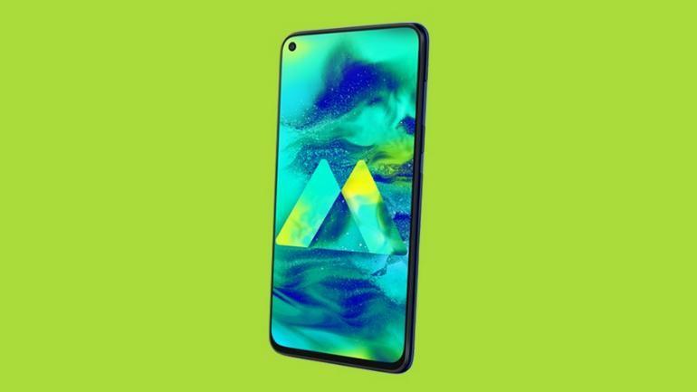 Samsung Galaxy M40 Sale Page