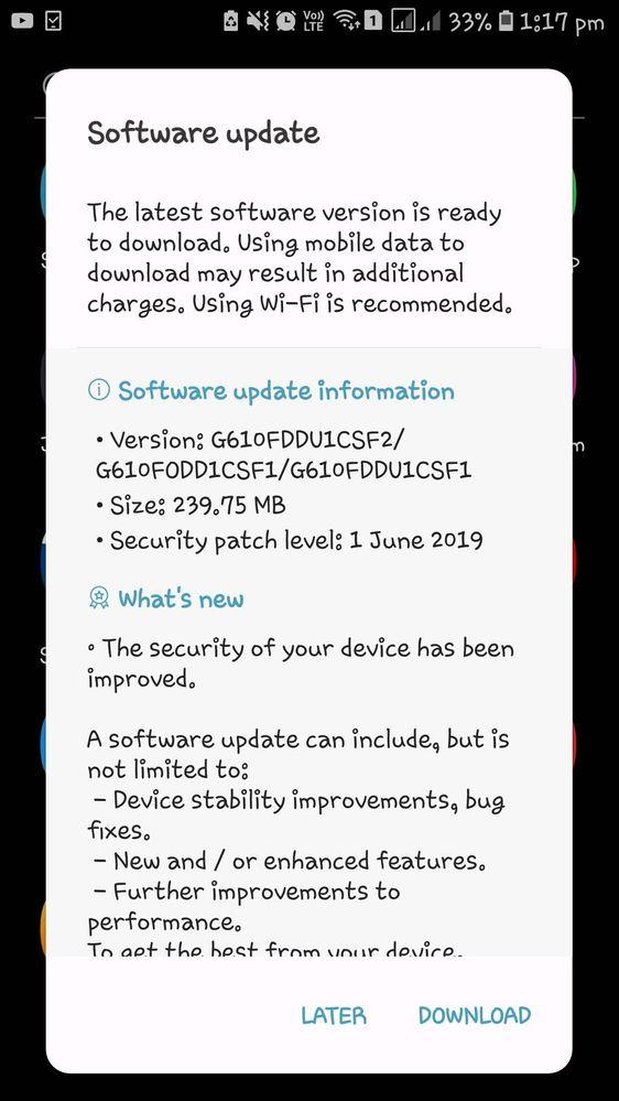 🔴SOFTWARE UPDATE - Samsung Global EU