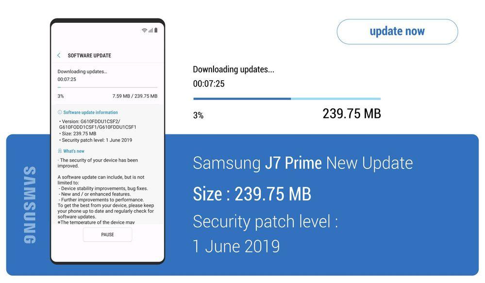 Samsung J7 Update 2019
