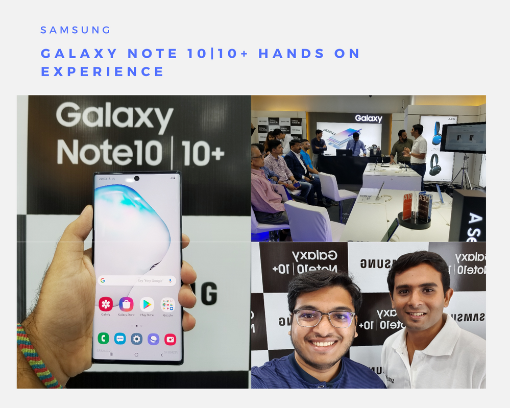 Samsung Galaxy Note 10 Hands On Experience
