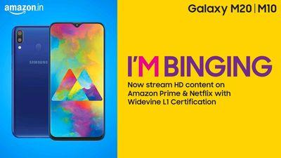 Samsung Galaxy M10Nd M20 support Widevine L1 Cerif