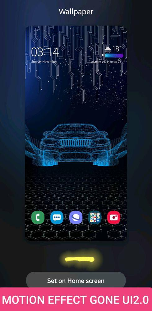 Android 10ui20betamotion Effect Gone Samsung Global Eu
