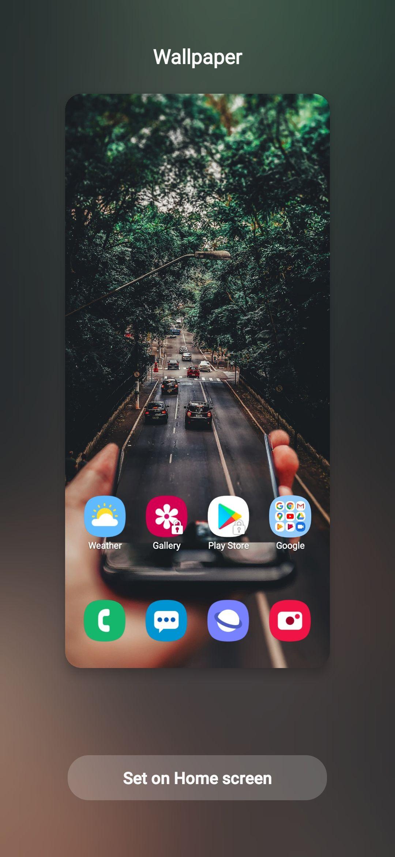 Motion Effect Of Wallpaper Samsung Members