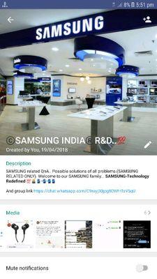 samsung whatsapp group - Samsung Global EU