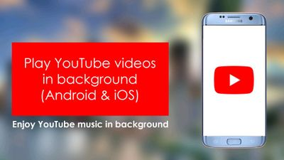 How to play YouTube in the background in Samsung p