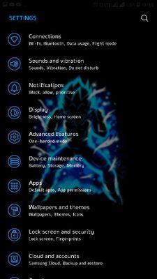 Dragon Ball Z Samsung Theme Nougat & Oreo No root