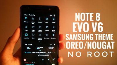 Note 8 Evo Theme For All Samsung O/N Devices - Samsung Global EU