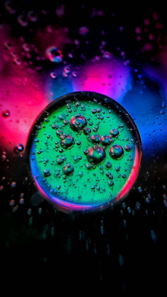 Oil Water Photography Withgalaxy Wallpaper Samsung Members