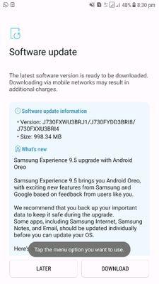 Oreo Update With Samsung Experience 9 5 - Samsung Global EU