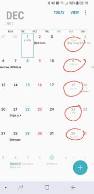 Hijri calendar - Samsung Global EU
