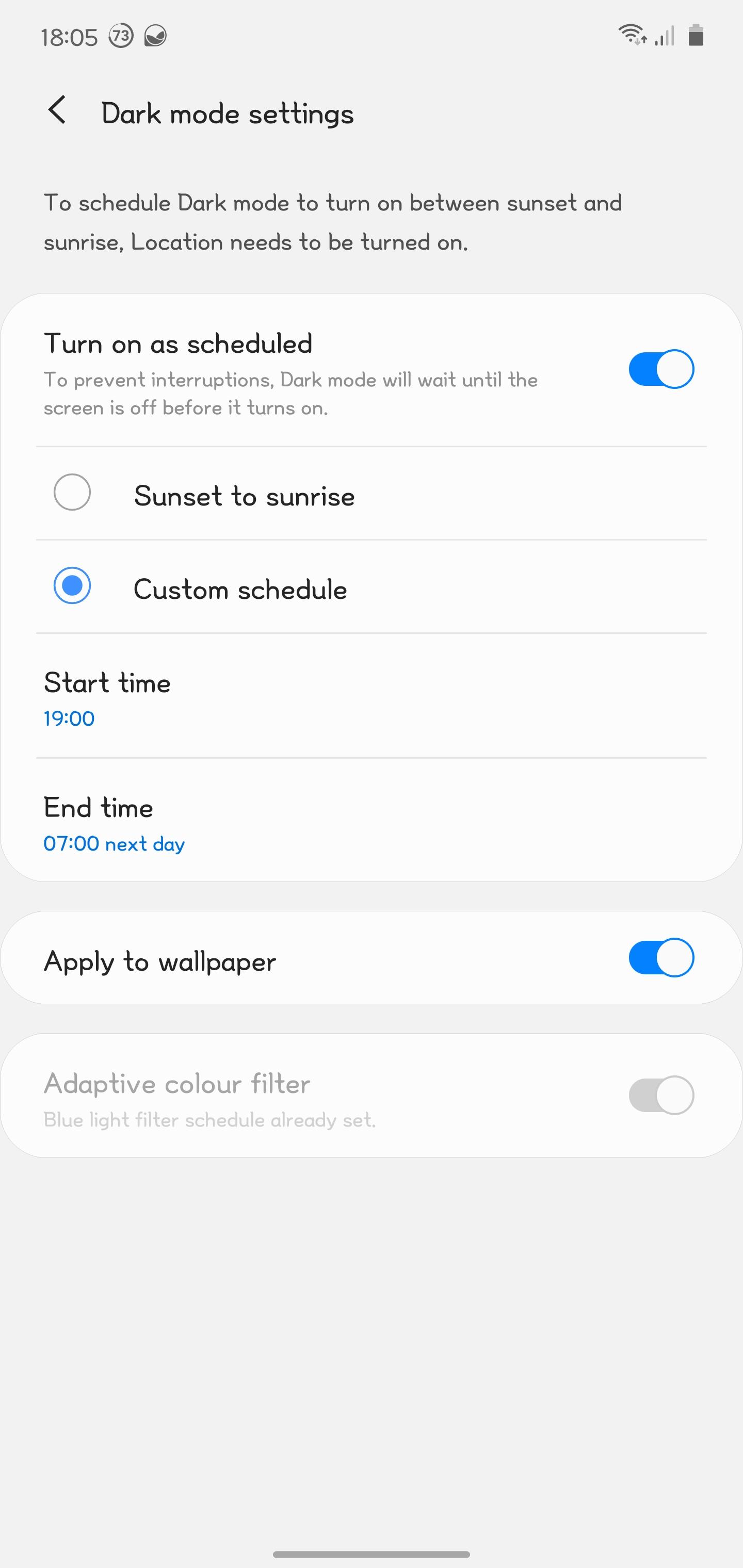 Solved Effect Of Dark Mode On Wallpaper Samsung Members